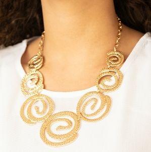 paparazzi Jewelry - Necklace & Earrings Set